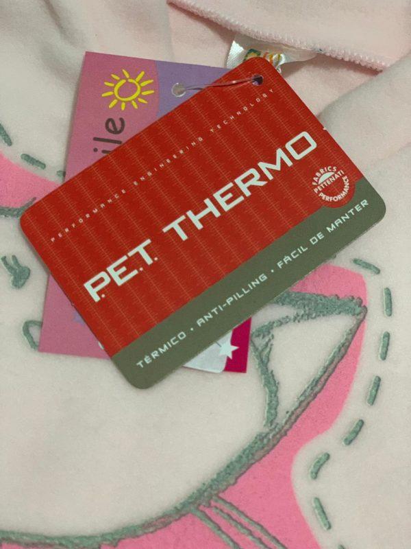 Pijama Infantil Dadomile Gatinha - MicroSoft PET Thermo - by AtHome Loja