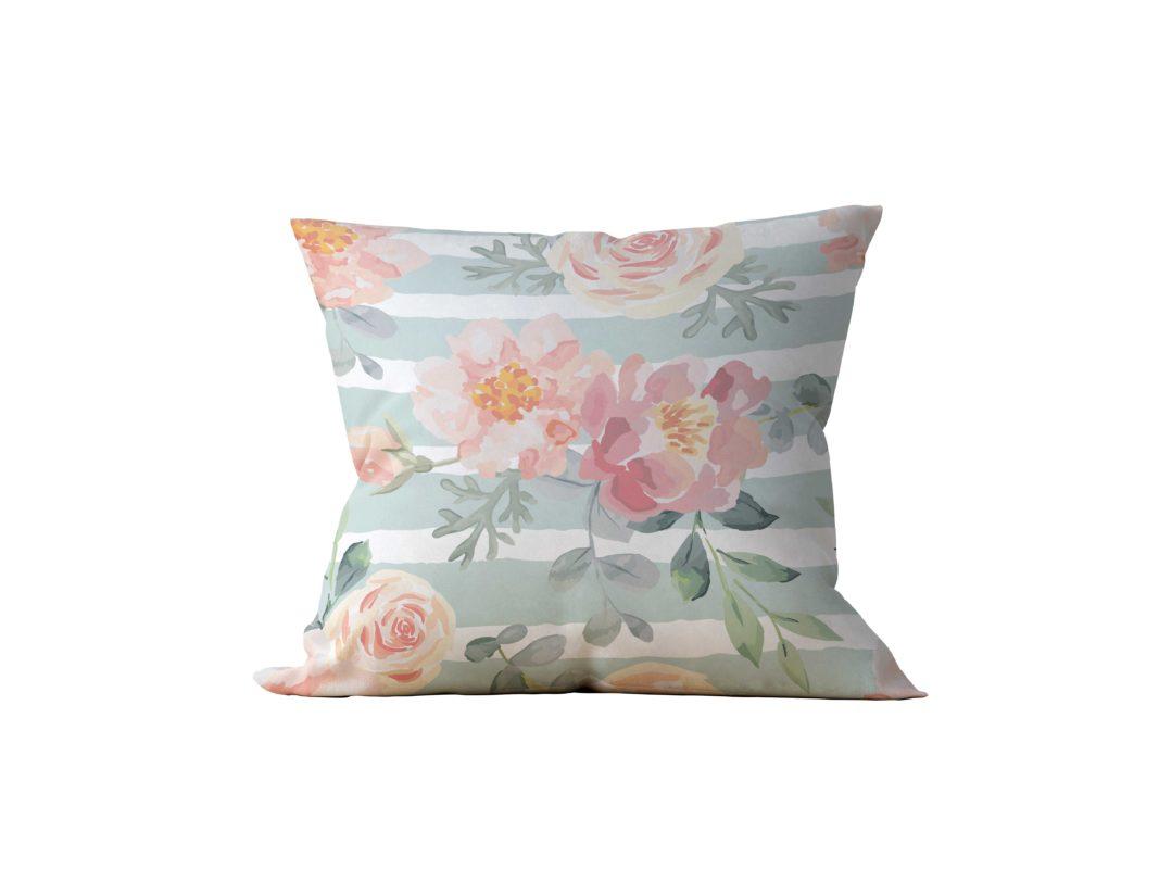 Almofada Decorativa Flor Esperance - 45x45