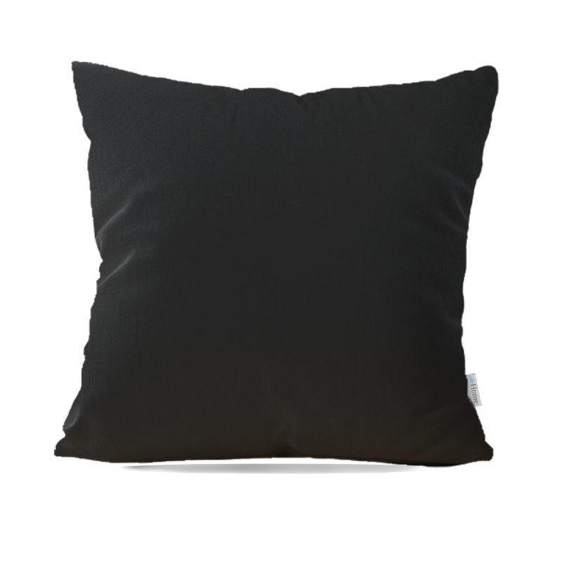 Capa de Almofada Decorativa Black In - 45x45