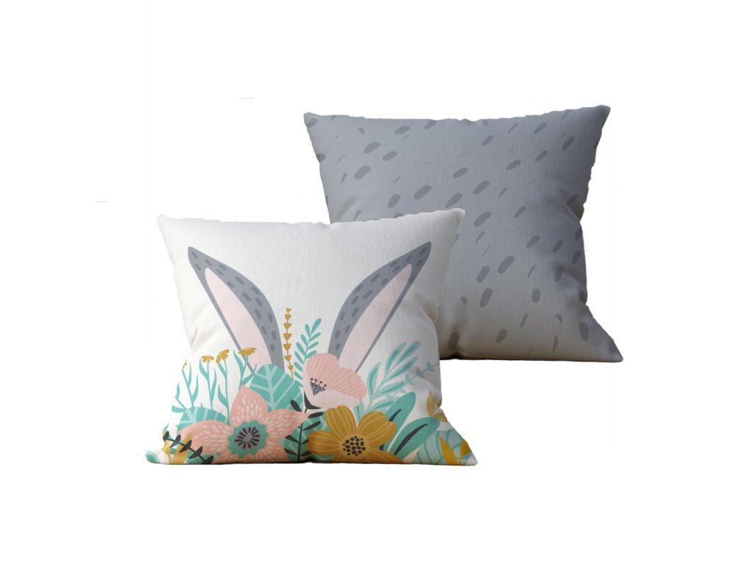 Kit com 2 Almofadas decorativas Paske - 45x45 - by #1 AtHome Loja