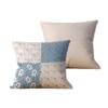 Kit com 2 Almofadas decorativas Patch & Vida Duo - 45x45 - by #1 AtHome Loja