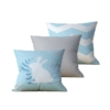 Kit com 3 Almofadas Decorativas Ostern - 45x45 - by #1 AtHome Loja