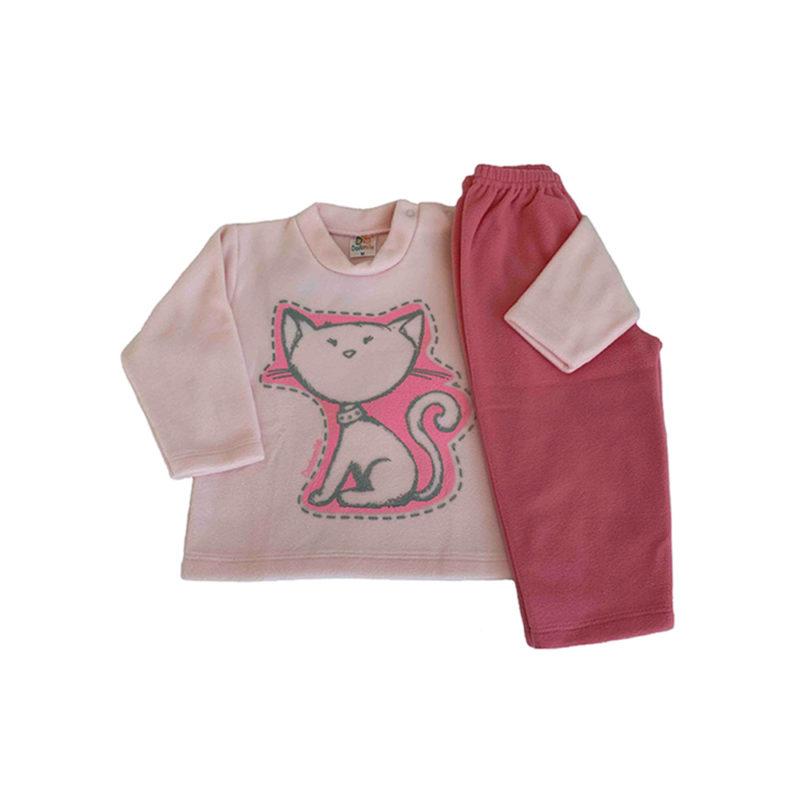 Pijama Infantil Soft - Felídeo - Dadomile