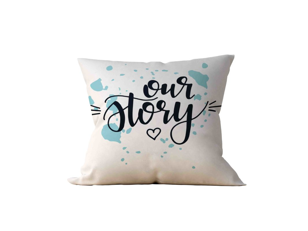 Almofada Decorativa Our Story - 45x45
