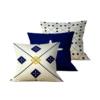 Kit: 3 Capas de Almofada Decorativas Cross Duo - 45x45