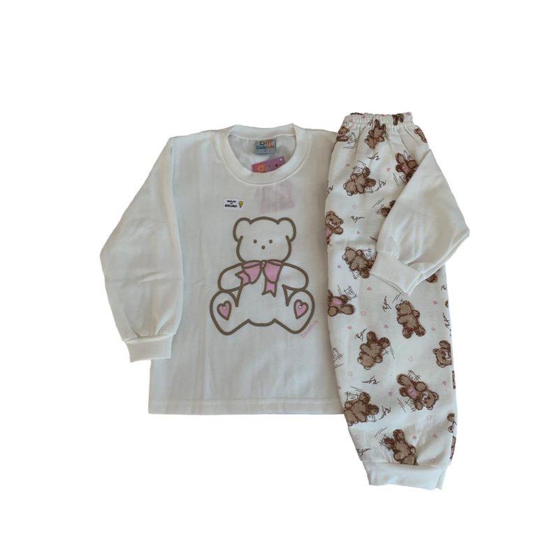 Pijama Infantil Moletinho - Fluffy - Dadomile