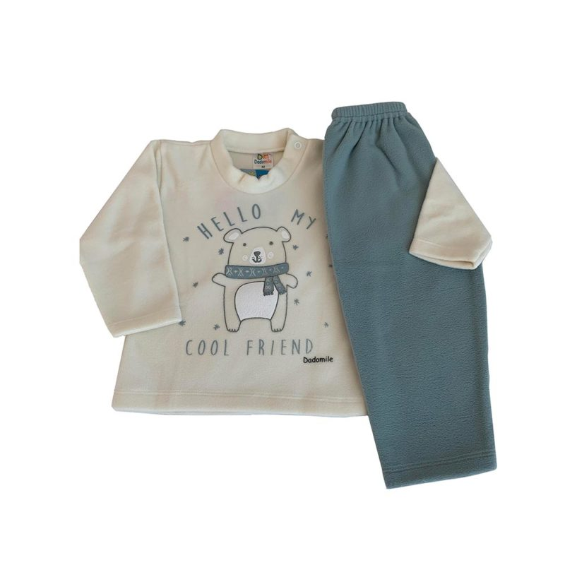 Pijama Infantil Soft - Hello Friend - Dadomile