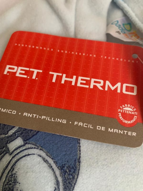 Pijama Infantil Dadomile Flying Team - MicroSoft PET Thermo