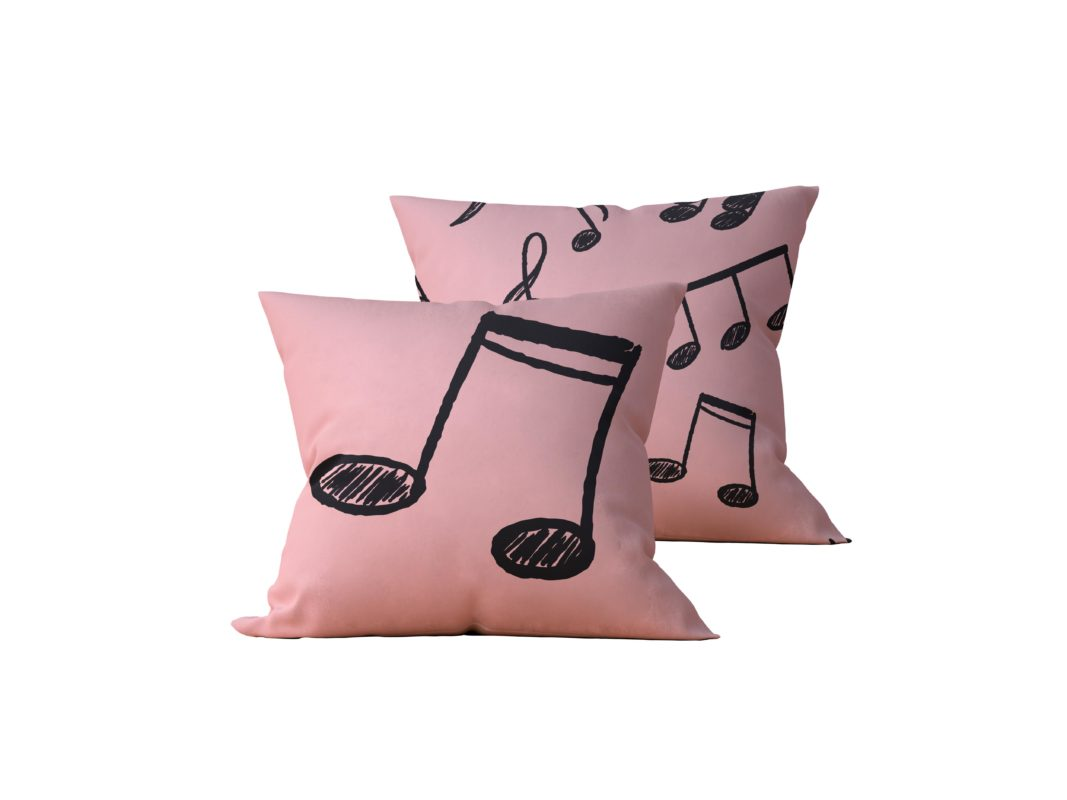 Kit: 2 Almofadas Decorativas Musie - 45x45
