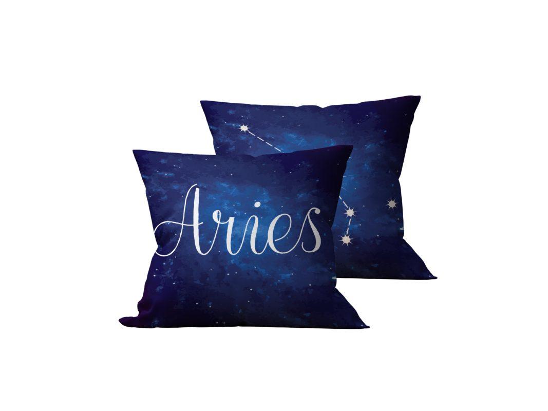 Kit: 2 Almofadas Decorativas Aries - 45x45