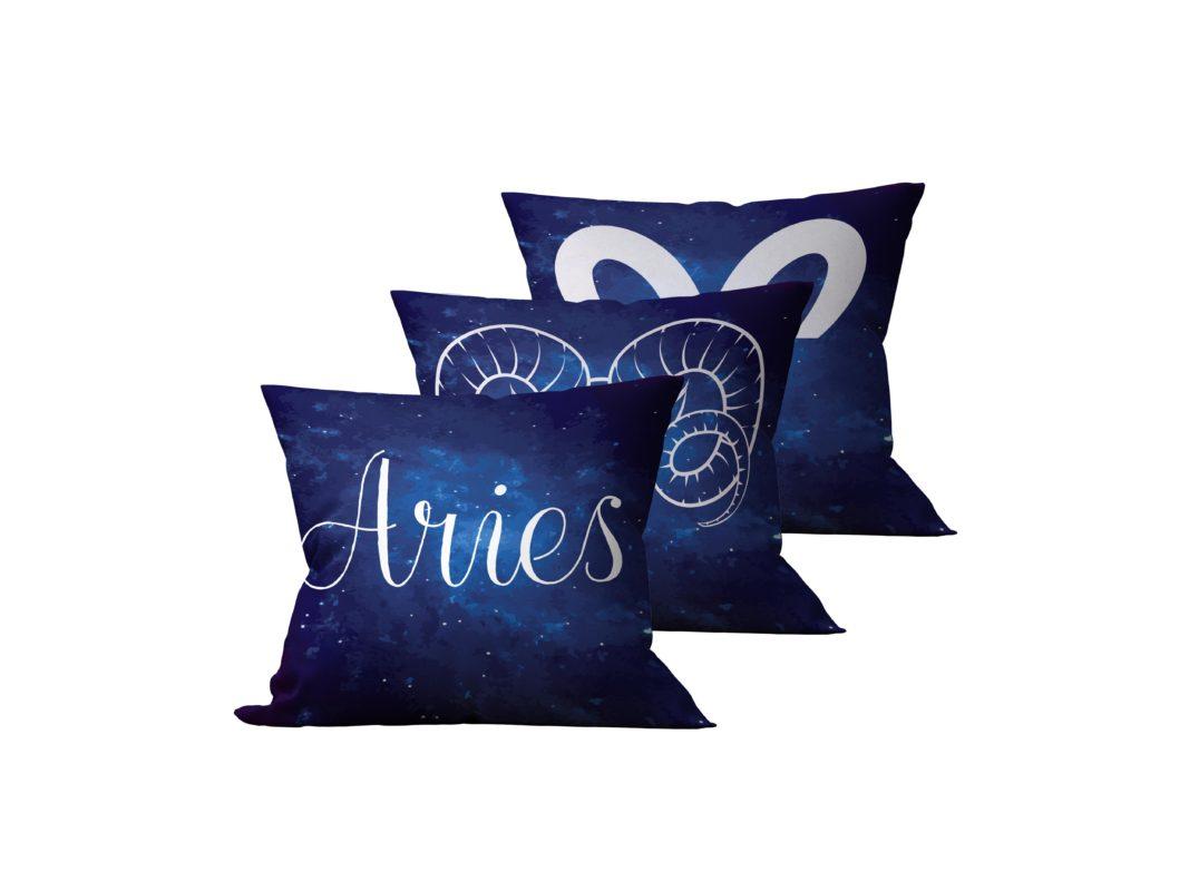 Kit: 3 Almofadas Decorativas Aries - 45x45
