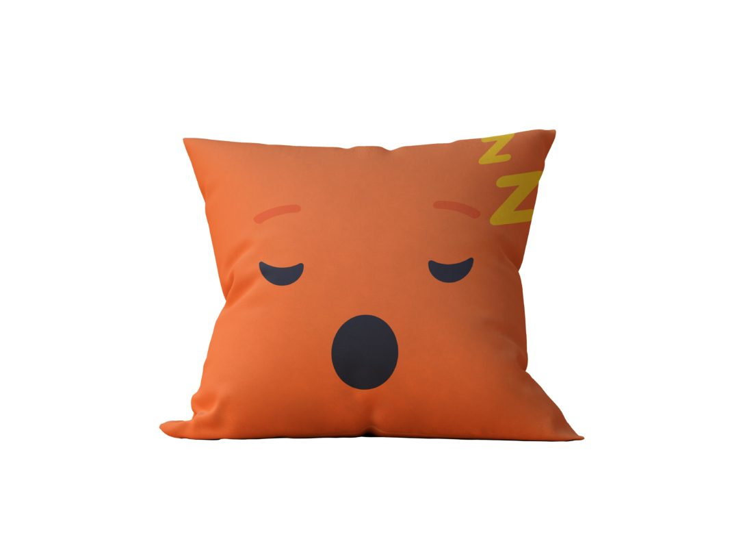 Almofada Decorativa Sleep Emoji - 45x45
